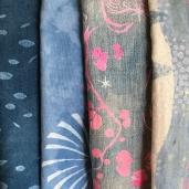 Handprinted textiles