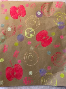 Kids Blockprinting paper_Micaela Christie